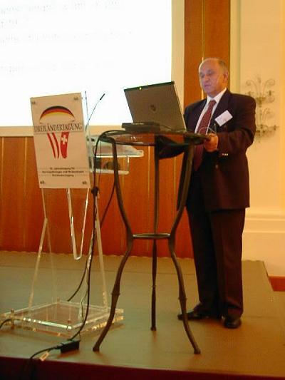 Prof. Antoni Basta (Ehrenmitglied der AG aus Krakau)